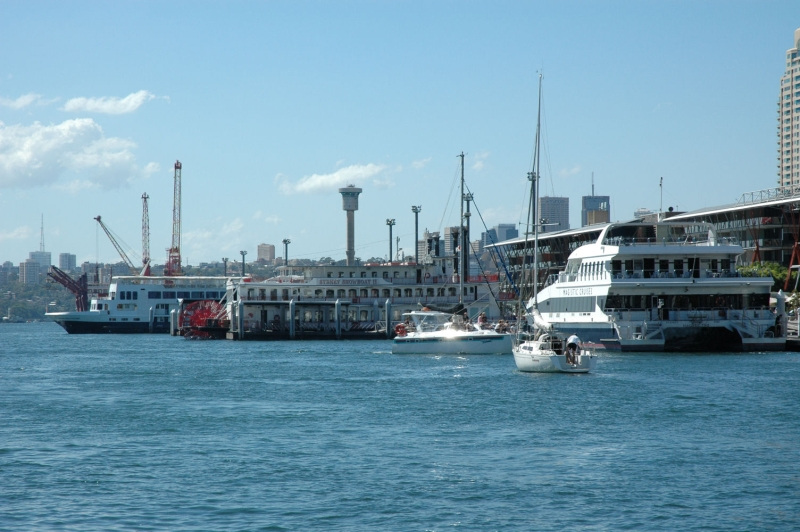 Boats in Darling Harbour