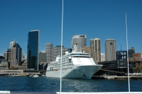 Cruise Liner at Circular Quay