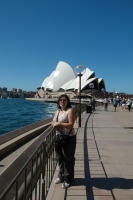 Trish at the Opera House